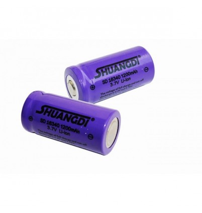 Акумулаторна Li-ion батерия SD16340 3.7V 1200mAh