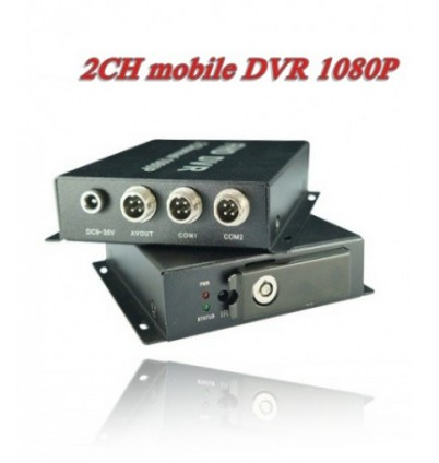 2 канален DVR за кола FULL HD BD-312