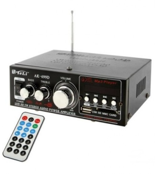 Аудио усилвател АK-669D с FM радио