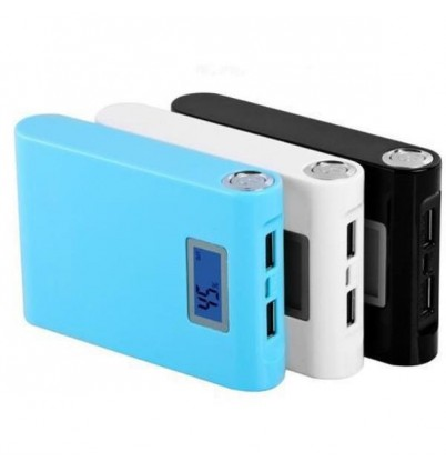 LCD Power Bank 12000mAh