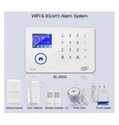 Wireless алармена система с управление през интернет BL-6600 WiFi/3G