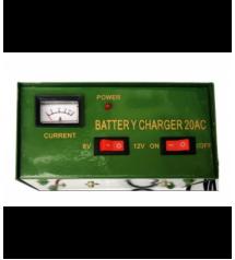 Зарядно за акумулатор 6V/ 12V 20Ah