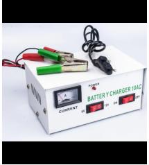 Зарядно за акумулатор 6V/ 12V 10Ah