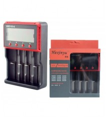 LCD зарядно устройство за акумулаторни батерии OR-HXY-H4