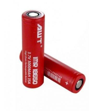 AWT Li-ion батерия IMR18650 3.7V 3000mAh - 40A