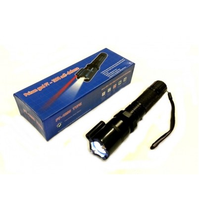 Електрошок с LED фенер и лазер FT-1298