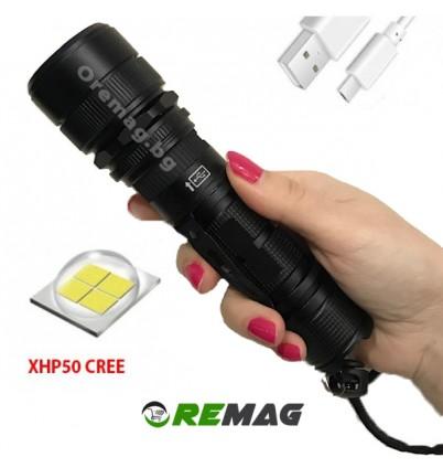Мощен къмпинг фенер с XHP50 LED 2400Lm H-603